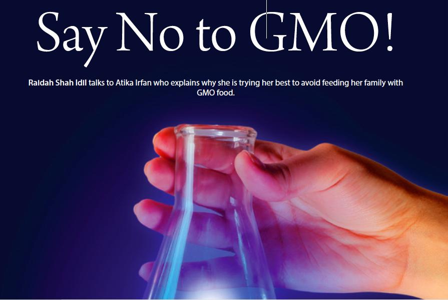 Say No to GMO!